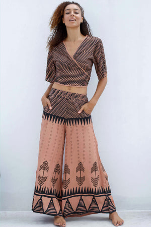 Tribal Pallazo Pants