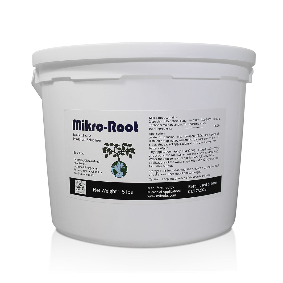 Mikro-Root Pail (5 lbs / 25 lbs)