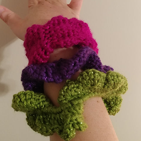 Party Scrunchie Pattern
