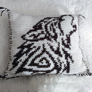 A Wolfish Dream Pillow