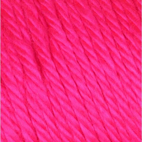 Neon Pink Caron Simply Soft Yarn