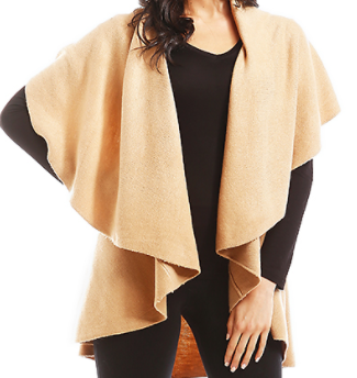 Camel Cape Shawl