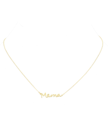 Capital M Mama Necklace