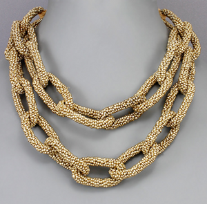Gold Charlotte Necklace