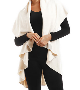 Ivory Cape Shawl