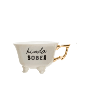 Sober Teacup - MSP Miss Smarty Pants