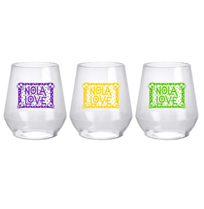 Nola Love Stemless Wine