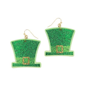 St. Patty's Day Hat Earrings