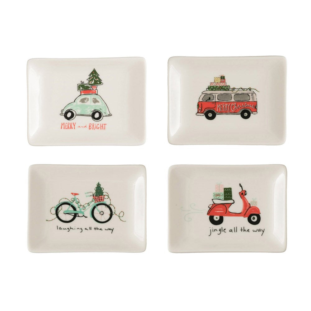 Holiday Travel Whimsical Trays