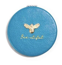 Blue Bee Compact Mirror - MSP Miss Smarty Pants