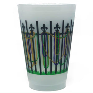 Bead Fence Frosted Cups - MSP Miss Smarty Pants