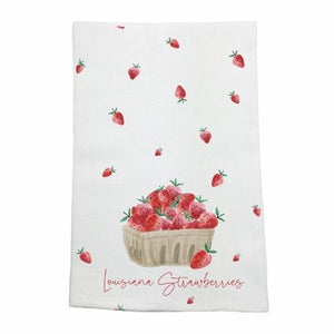 Louisiana Strawberry Towel - MSP Miss Smarty Pants