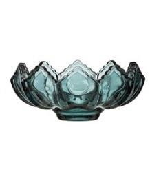 Blue Glass Tealight Holder - MSP Miss Smarty Pants
