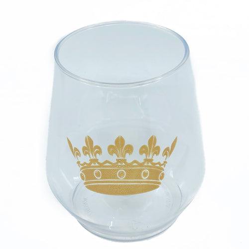 Crown Stemless Wine - MSP Miss Smarty Pants