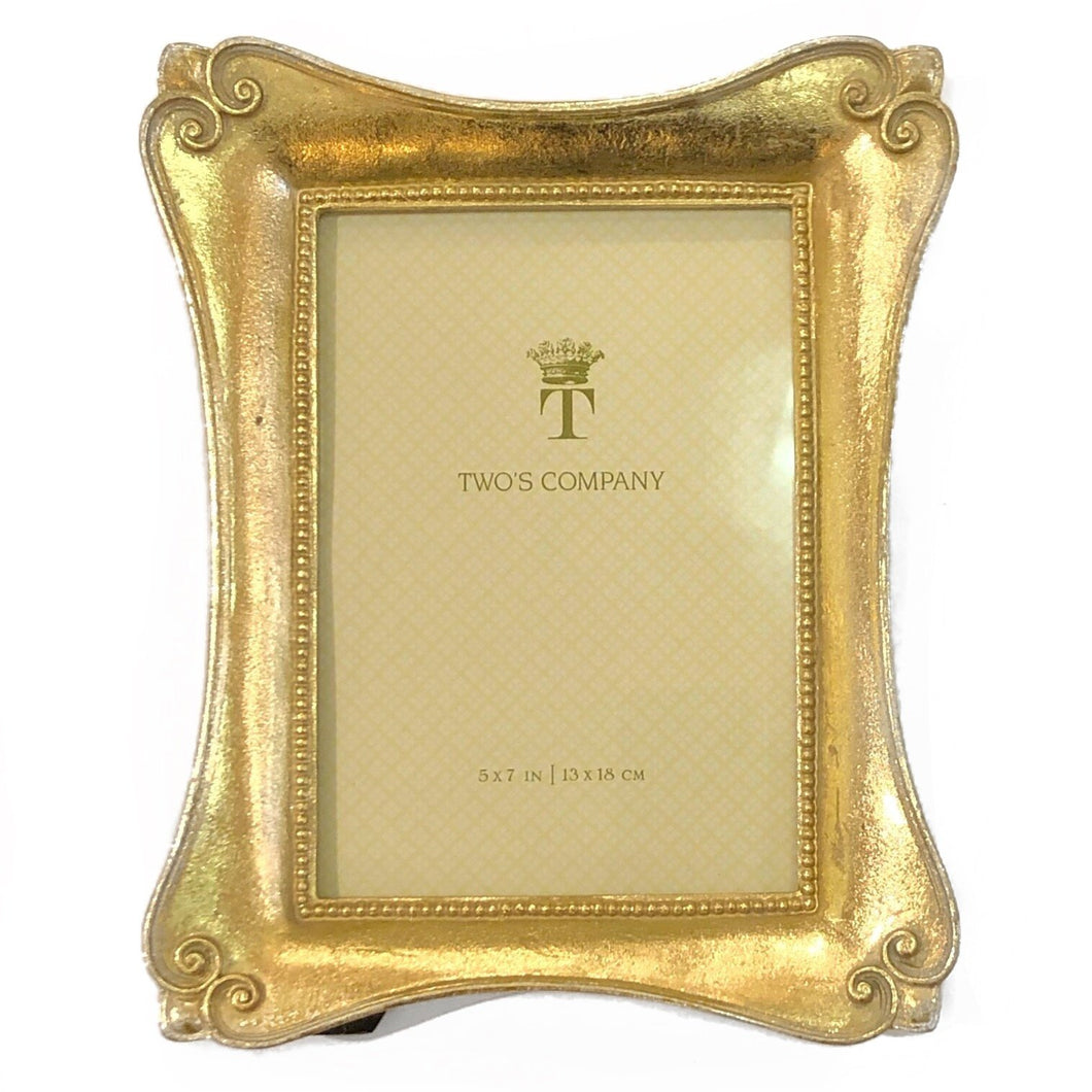 5x7 Curvy Gold Frame II - MSP Miss Smarty Pants