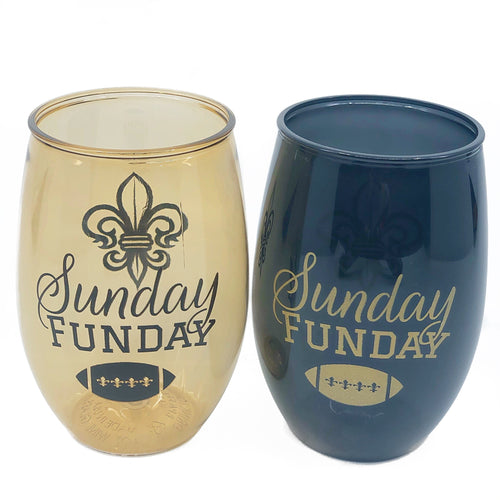 Sunday Funday Stemless Wine