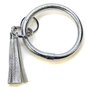 Silver Tassel Keyring - MSP Miss Smarty Pants
