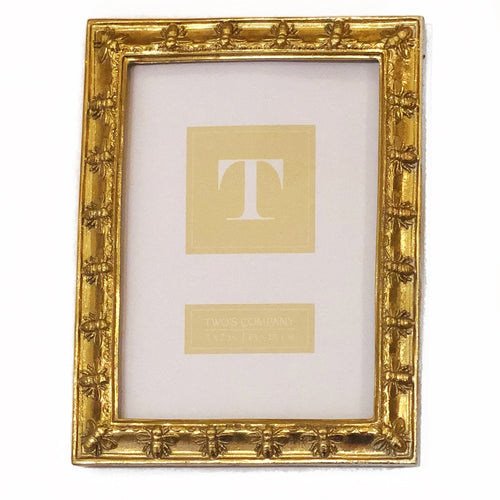 5x7 Gold Bee Frame
