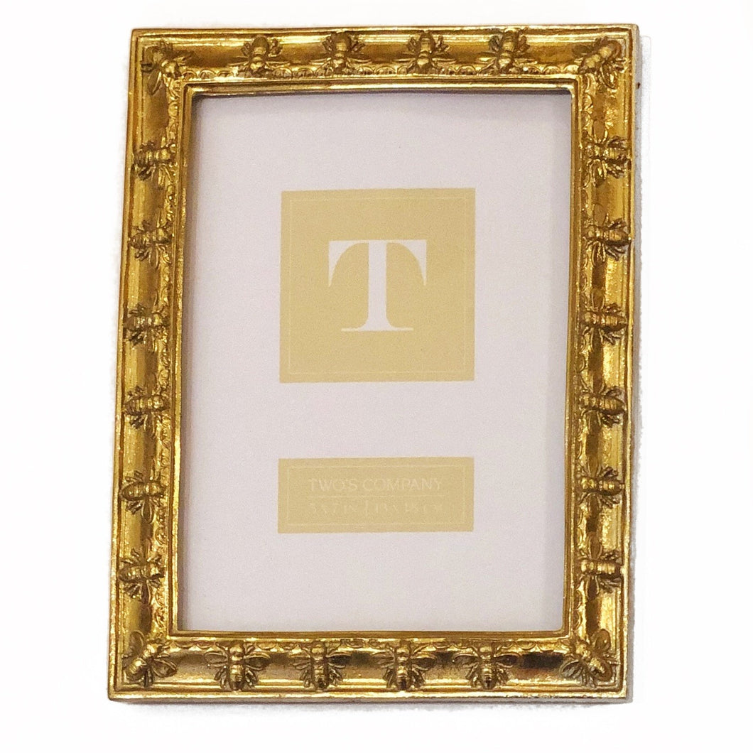 5x7 Gold Bee Frame - MSP Miss Smarty Pants