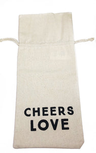 Cheers Love Wine Bag