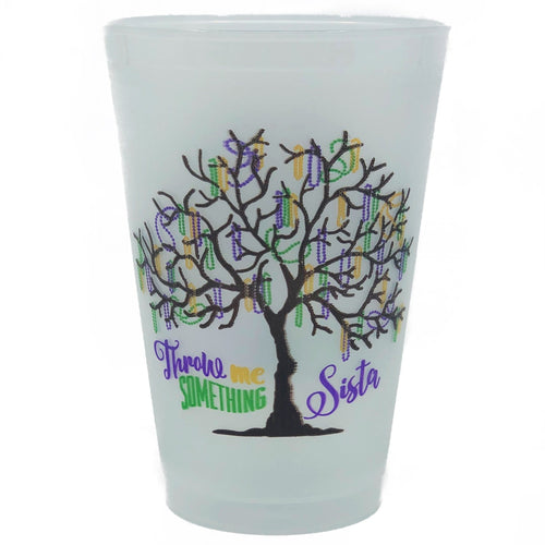 Bead Tree Frosted Cups