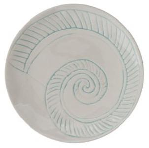 Snail Embossed Round Plate - MSP Miss Smarty Pants