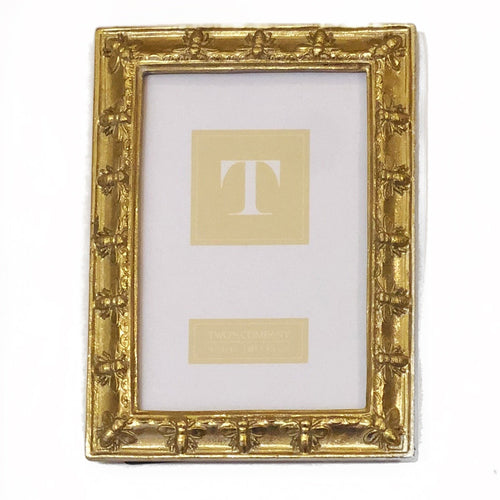 4x6 Gold Bee Frame