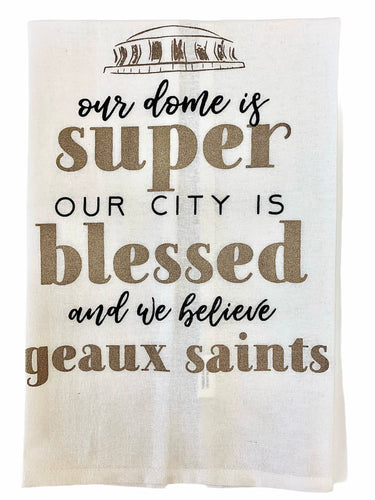 Geaux Saints Towel