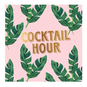 Cocktail Hour Cocktail Napkins