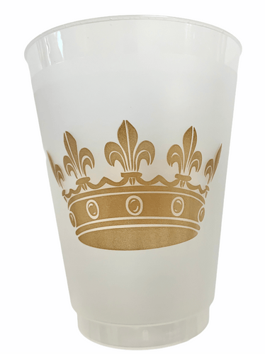 Crown Frosted Cup - MSP Miss Smarty Pants