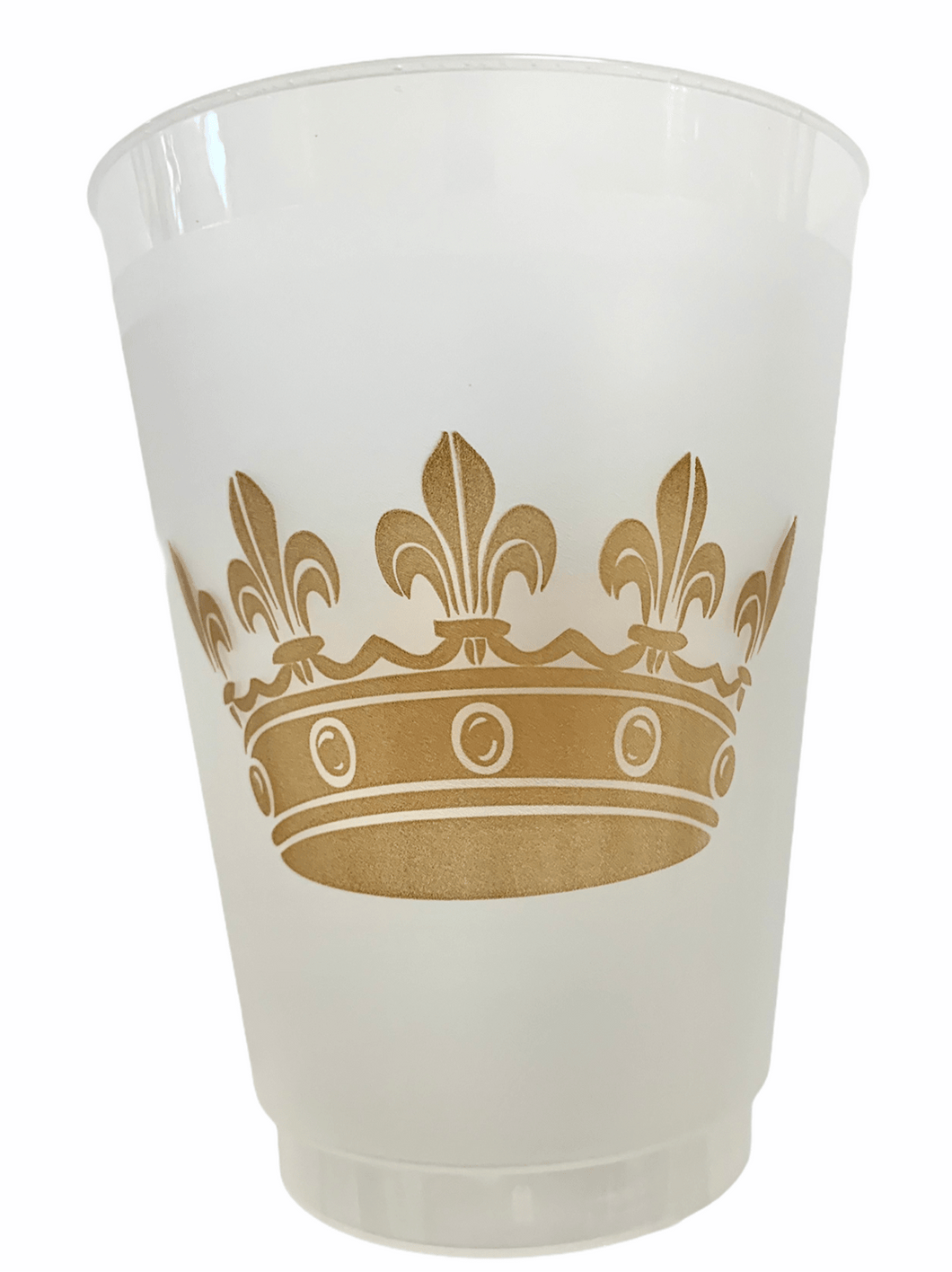 Crown Frosted Cup