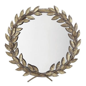 Laurel Mirror/Tray