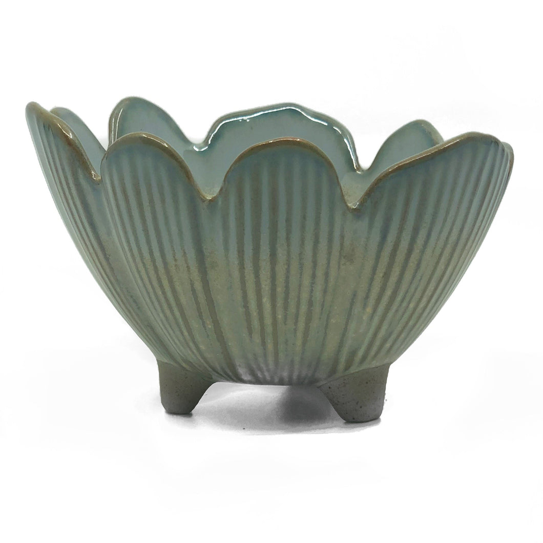 "5"" Porcelain Flower Bowl"