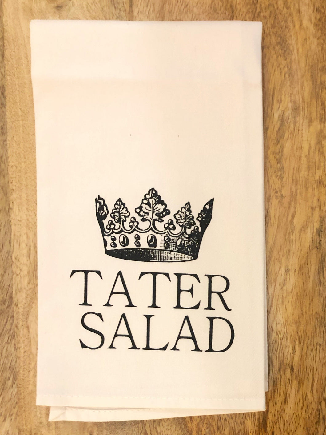Crown Tater Towel