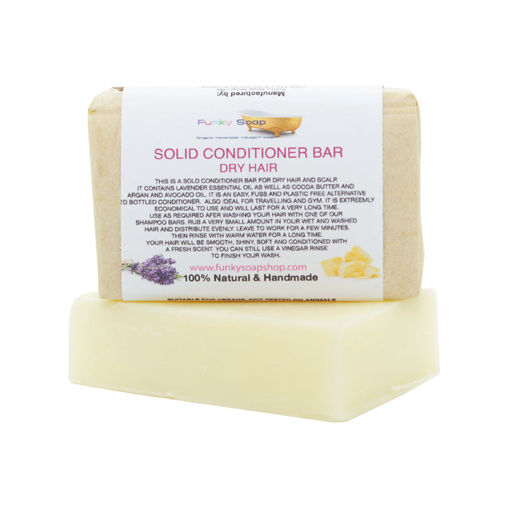 Funky Soap Solid Conditioner Bar - Dry