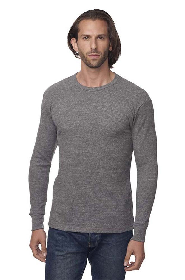 Unisex eco Tri-Blend Heavyweight Thermal Tee