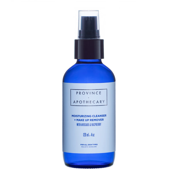 Province Apothecary Moisturizing Cleanser + Makeup  Remover with Avocado & Raspberry (120 ml)