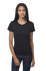 Women's Short Sleeve Organic Fine Jersey Tee - Eco and Earth