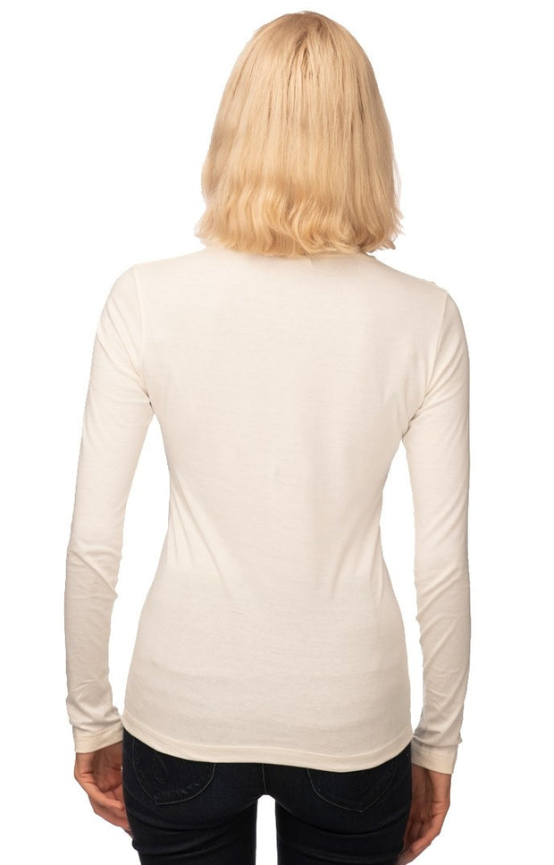 Women's Organic Long Sleeve Crew Tee