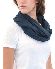 Unisex Viscose Bamboo & Organic Cotton Infinity Scarf - Eco and Earth