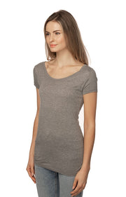 Women's Bamboo & Organic Cotton Scoop Neck Short Sleeve Tee