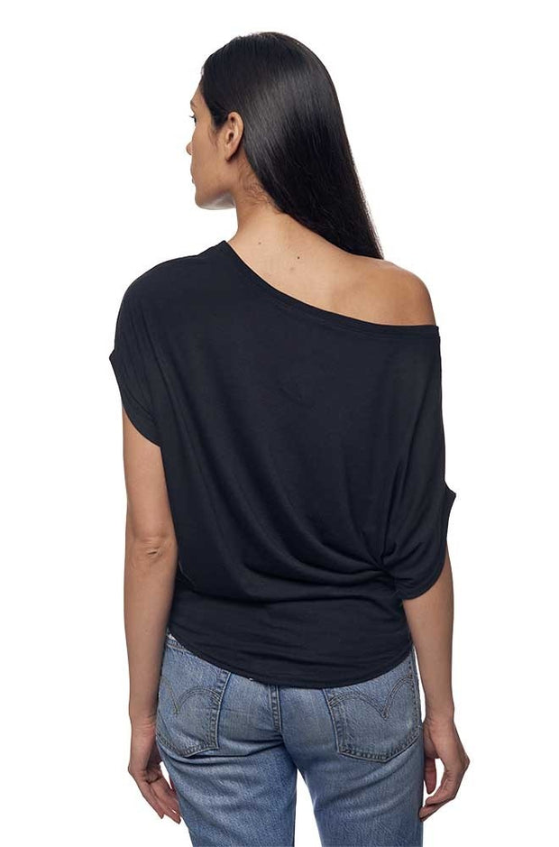 Women's Bamboo & Organic Cotton Poncho Tee - Eco and Earth
