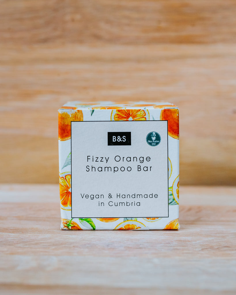 Fizzy Orange Shampoo Bar - Eco and Earth
