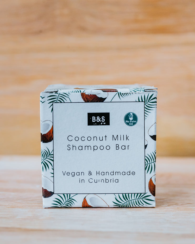 Coconut Milk Shampoo Bar - Eco and Earth