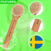 NEW Eco & Earth Facial Skincare Dry Brush - Eco and Earth