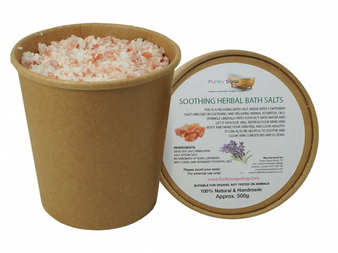 Funky Soap Soothing Herbal Bath Salts - Eco and Earth