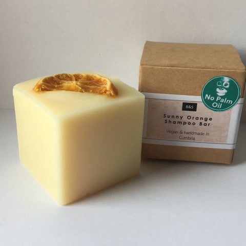 Bain and Savon Sunny Orange Shampoo Bar