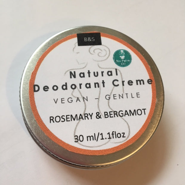 Bain and Savon Rosemary & Bergamot Deodorant - Eco and Earth