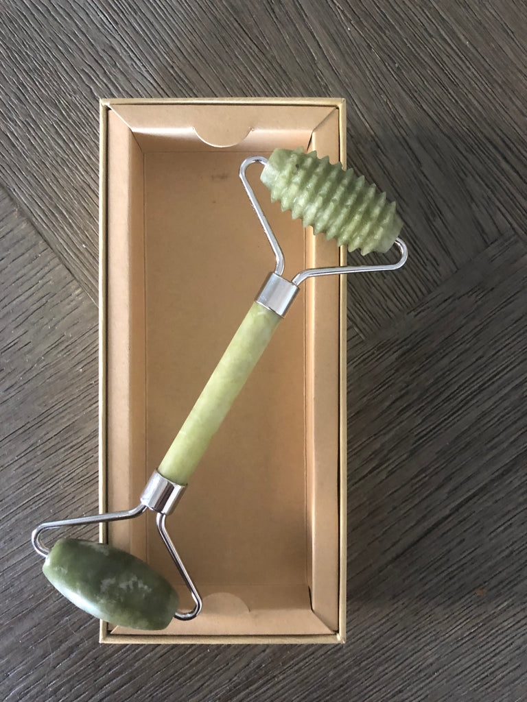 Dual-Action Jade Face Roller - Eco and Earth