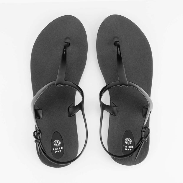 Third Oak Journey Sandal - Black